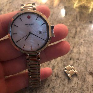 Kate Spade Silver Wristwatch --  Includes Extender